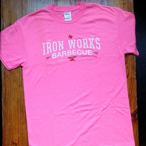 Iron Works Barbecue Pink T-Shirt