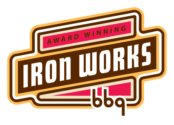 Iron Works Barbecue Retina Logo