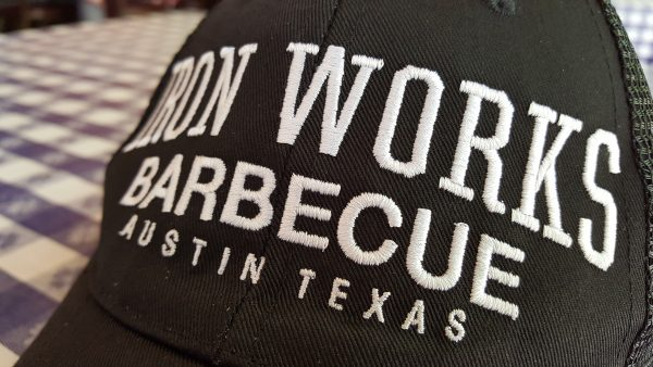 Iron Works Barbecue Black Mesh Hat
